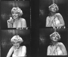 bohemea:    Marilyn Monroe contact sheet by Cecil Beaton, 1956