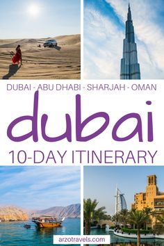 Planning a trip to Dubai and wondering what to do in days? Find my travel tips for the best things to do and best places to visit in the UAE. Dubai itinerary I One week in Dubai I Dubai activities I Dubai travel tips I Dubai, United Arab Emirates travel Dubai Vacation, Dubai Travel, Asia Travel, Solo Travel, Dubai Trip, Eastern Travel, Jamaica Vacation, Dubai Places To Visit, Visit Dubai