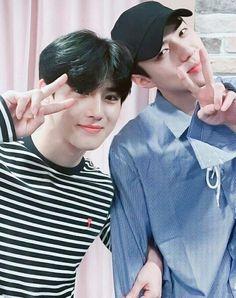 Suho and sehun^^