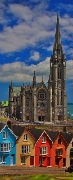 St Colman's Cathedral, Cobh, County Cork, Ireland || Get more travel inspiration and tips for visiting Ireland at http://www.holidaystoeurope.com.au/home/resources/destination-articles/ireland