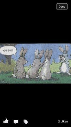 Easter humor.     X