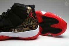 // Tinker Hatfield's Custom Air Jordan 11 For Steve Mullholand Jordan Shoes For Women, Cheap Jordan Shoes, Michael Jordan Shoes, Cheap Shoes, Jordans Girls, Nike Air Jordans, Retro Jordans, Latest Sneakers, Sneakers Nike