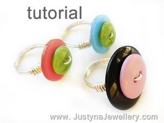 Button Ring   [can buy tutorial for $4]