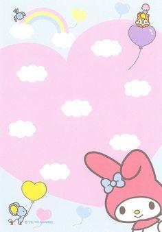 Memo paper - My Melody - Sanrio