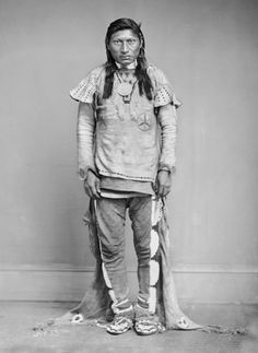 American Indians : Nick A Agod - Ute 1868.