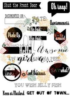 Keen as Mustard Stamp Set - Give a girl a...