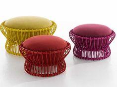Patio Furniture - Taiko Poufs - Tomoko Mizu