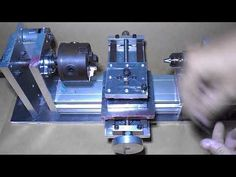 DIY Tail Stock Mini Wood Homemade Tailstock Metal Lathe Spindle CNC Machine Chuck Drill Headstock 4 - YouTube Diy Lathe, Diy Cnc, Machine Tools, Cnc Machine, Homemade Lathe, Lathe Parts, Lathe Chuck, Maker Shop, Industrial Machine