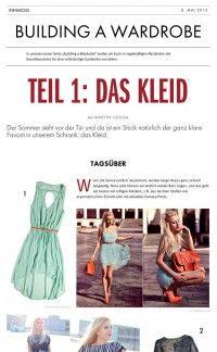 Teil 1: Das Kleid – Building a Wardrobe | Infamous Magazine