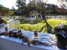 Quaint and charming wedding... we know you'll say 'yes!' [Centaur Arabian Farms]