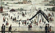 'The Playground' by Lowry