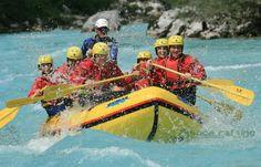 Rafting on Soca river (foto: Soča rafting d.o.o.,Bovec, Slovenia)