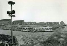 Waterwijk in aanbouw.
