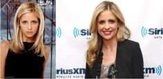 Famous TV Show Stars Then and Now ..Sarah Michelle Gellar, Buffy the Vampire Slayer 19