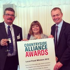 Hawkshead Relish flying the flag for Cumbria & the North West at today's Countryside Alliance Awards at the House of Lords. Pictured Mark & Maria Whitehead with local MP, Tim Farron. #ruraloscars #cumbria #northwest #awards