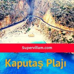 Kaputaş Plajı - Kaş Tatili - Kaşta Gezilecek Yerler - Supervillam.com