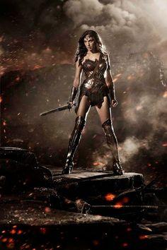 Fashion and Action: Gal Gadot As Wonder Woman in Batman V Superman: Dawn of Justice