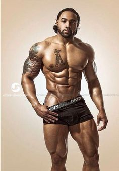 Black Is Beautiful Gorgeous Black Men, Handsome Black Men, Beautiful Men, Black Man, Black Guys, Simply Beautiful, Light Skin Men, Muscular Men, Male Physique