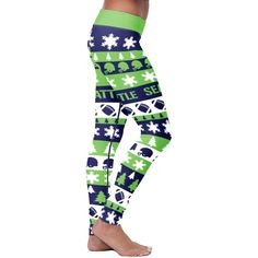 Fans are going crazy for these hot Seattle Football Love Leggings!