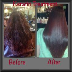 Maxliss Keratin treatment: before and after! | Hair Beauty ...