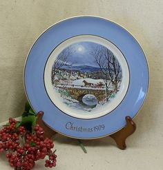 "Check out Vintage 1979 AVON Christmas Plate Collector Series,Seventh Edition,""Dashing Through The Snow"",Enoch Wedgwood (Tunstall) Ltd,England,#7084 on ckdesignsforyou"