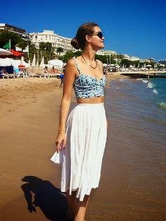 Cannes Beach // miamarionette (by Mia  Marionette) http://lookbook.nu/look/3790379-Cannes-Beach-miamarionette