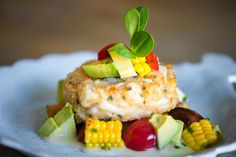 grilled crab cakes with old bay aioli baked corn and crab cakes ...