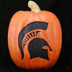 spartan pumpkin; present for patch