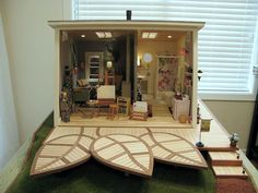 I like this because the layout is similar with and workable to the layout of my studio apartment.