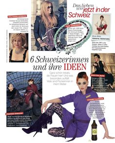 Yes, we are a womens magazine and yes, we feauture women and yes, we enjoy seeing women having success in whatever they do. Read. Freundin Schweiz No 9 2013.