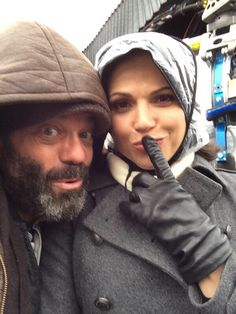 Lee Arenberg twitter pic // Lana Parrilla is one of the greats!!! I ❤️LP!!!!