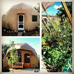 Check out this awesome listing on Airbnb: Geodesic Earth Dome - Earth Houses for Rent in El Prado