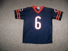 Jay Cutler #6 Chicago Bears Football Jersey -- Youth L by Reebok  #ChicagoBears