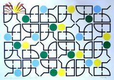 Artista :Athos Bulcão  Título :Embaixada do Brasil em Buenos Aires  Técnica :Serigrafia