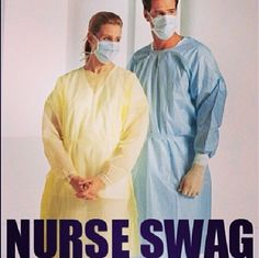 Swag that you have to put on and take off 400 times a shift. And makes you sweat buckets.