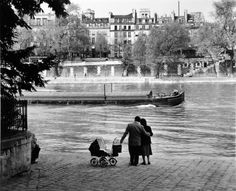 willy ronis Paris Zarif Aile 1953