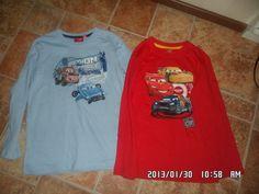 Isommalle pojalle Cars paitoja