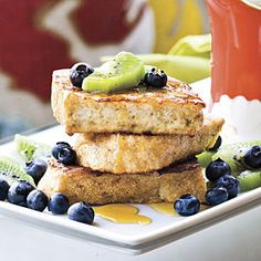 Guiltless French Toast | MyRecipes.com #myplate #protein #grain