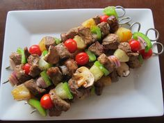 The Daily Dish: Perfect for Summer Kabobs - Hawaiian Beef & Pineapple!