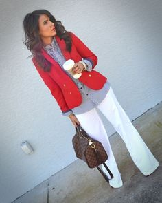 How To Style Ladies White Pants In 2015 (24)