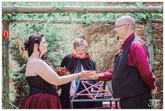 Martie and Gerhard's River Chapel Ceremony at Mokoya Lodge