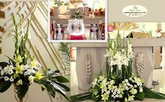 Large Flower Arrangements, Large Flowers, Table Decorations, Google, Furniture, Home Decor, Floral Arrangements, First Holy Communion, Decoration Home