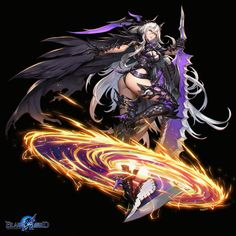 ArtStation - Lilly Blade X Lord, Bluezima : Dong-Wook Shin Fantasy Art Warrior, Fantasy Art Women, Anime Warrior, Fantasy Armor, Dark Fantasy Art, Anime Fantasy, Fantasy Girl, Fantasy Character Design, Character Design Inspiration
