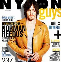 Norman Reedus pose pour le magazine Nylon Guys [Photo du jour]