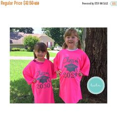 ON SALE Class of 2029 2030 2031 2032 2034 Shirt  Adult Size
