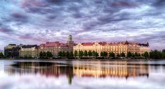 HDR in Helsinki: Reflections Eläintarhanlahti