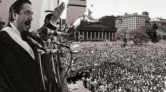 Se cumplen 30 años del retorno de la democracia en Argentina
