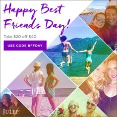 Julep BFF Day Coupon! Save $20 off your order! | Sample Box Reviews