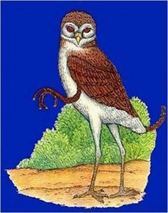 Chickcharney is a cryptozoological creature resembling a bird, specifically an owl, that lives in the forests of Andros Island in the Bahama Islands. According to some, it is furry, feathered, about 3 feet tall and is considered ugly looking.