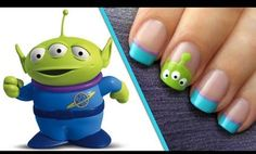 Added By eleanor  loiz. #Nailart#Bright  Okay so I am in LOVE with Toy Story and when I saw these I died!!!!!❤ @BLOOM.COM